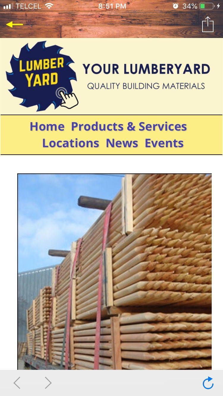 Mock Lumberyard Home Page