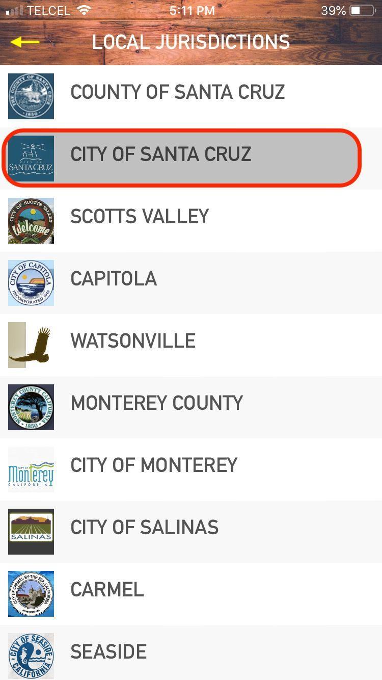 Menu: LJ City of SC