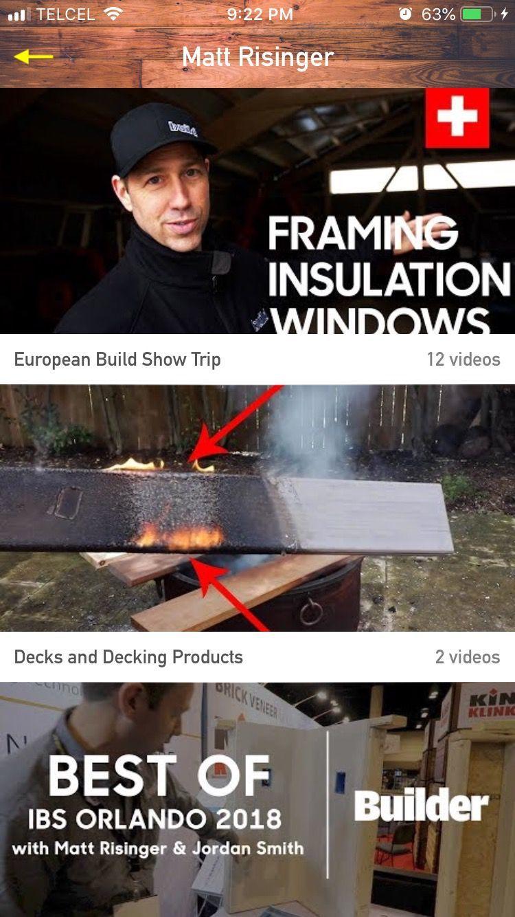 Matt Risinger Videos